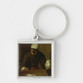 Kitchen Maid with the Supper at Emmaus, c.1618 Keychain