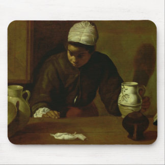 Kitchen Maid with the Supper at Emmaus, c.1618 Mousepads