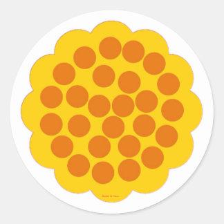 Kitchen Martzkin Apricot Tart Sticker Sheet