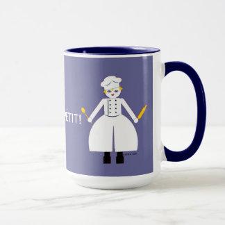 Kitchen Martzkin Blue Chef's Mug
