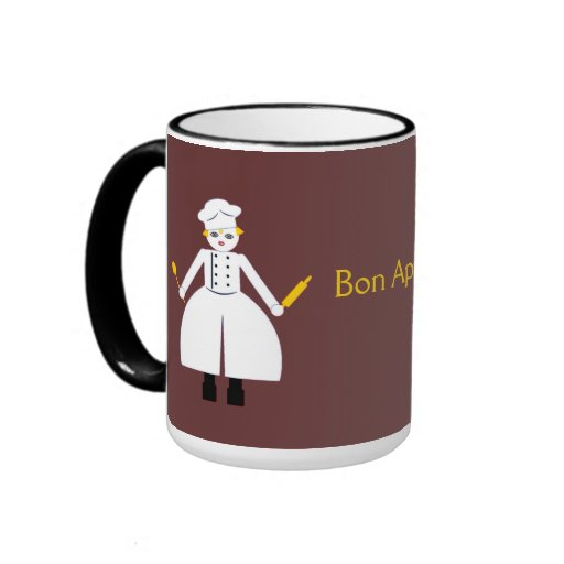 Kitchen Martzkin Bon App Tit Mug Zazzle