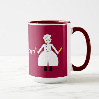 Kitchen Martzkin Red Chef's Mug