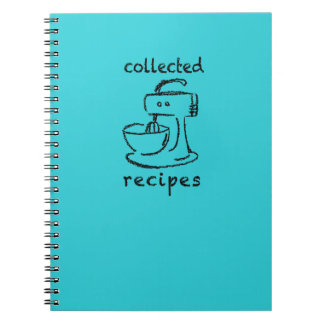 Kitchen Mixer Collected Recipes Journal