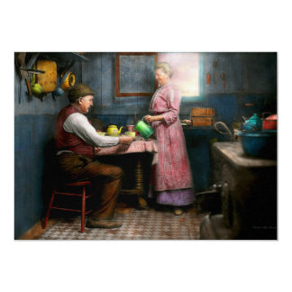 Kitchen - Morning Coffee 1915 Card