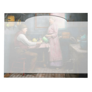 Kitchen - Morning Coffee 1915 Notepad