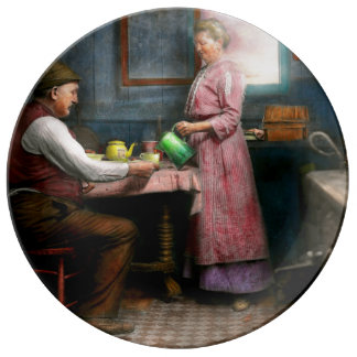 Kitchen - Morning Coffee 1915 Plate