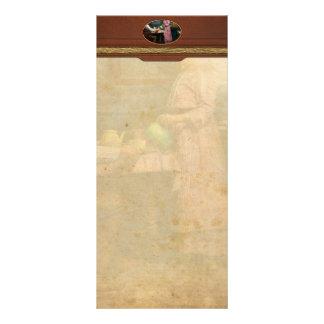 Kitchen - Morning Coffee 1915 Rack Card
