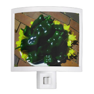 Kitchen Night Light ~ Green Chili Peppers