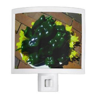 Kitchen Night Light ~ Green Chili Peppers