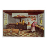 Kitchen of the Hotel St.Lucas Poster
