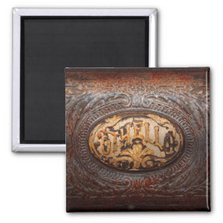 Kitchen - Oven - Careful it's hot 2 Inch Square Magnet