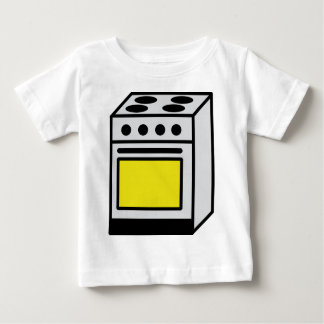 kitchen oven stove icon baby T-Shirt
