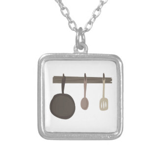 Kitchen Pan Necklace