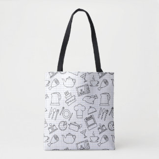 Kitchen Pattern 4 Tote Bag