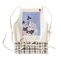Kitchen Poems Custom Zazzle HEART Apron