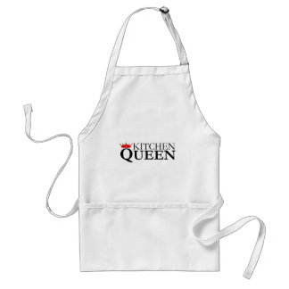 Kitchen Queen and crown - chef's apron
