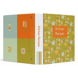 Kitchen Recipes Binder binder