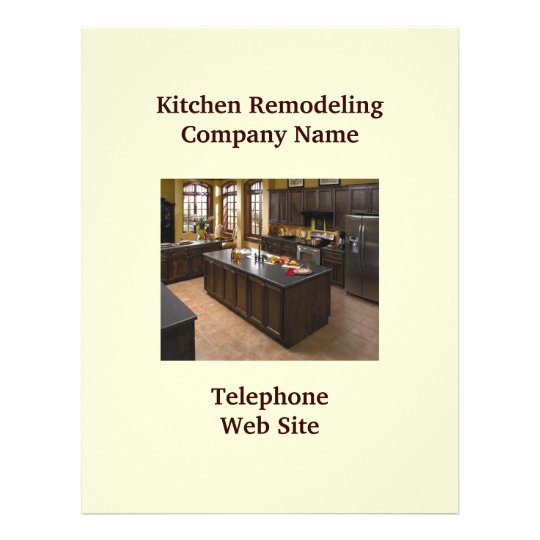 Kitchen Remodeler5 Business Flyer