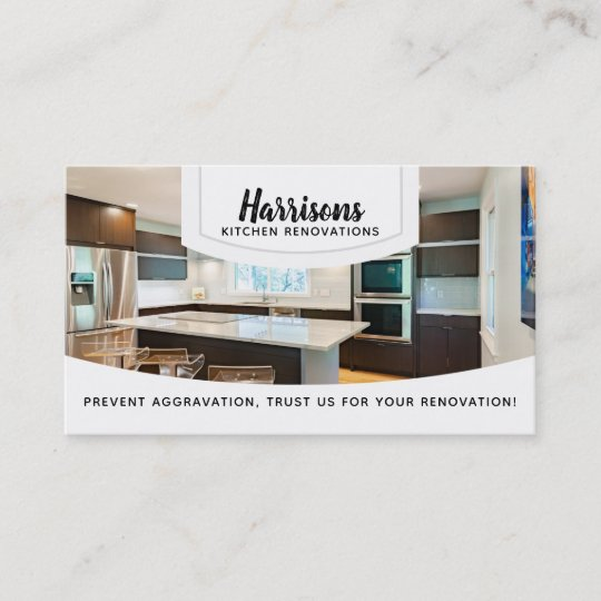 Kitchen Renovations Slogans Business Cards Zazzle Com