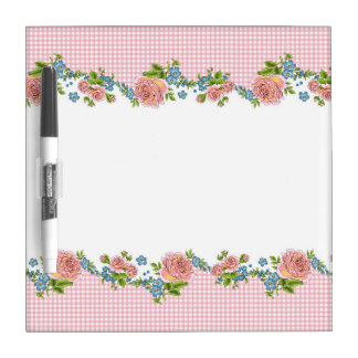 Kitchen Rose dry erase board (small)