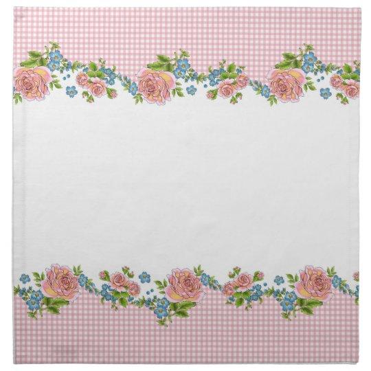 Kitchen Rose napkin set