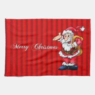 Kitchen Santa Towel