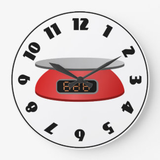 Kitchen Scale Clock