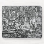 Kitchen scene in the early seventeenth century mouse pad