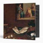 Kitchen Scene with Christ Binder