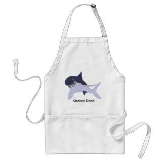Kitchen Shark 5 Adult Apron