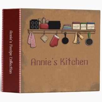Kitchen Shelf Binder