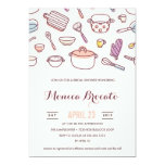 KITCHEN SHOWER bridal shower invitation