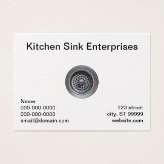 Kitchen Sink Business Card