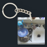 "Kitchen Sink Keychain<br><div class=""desc"">Kitchen Sink. For someone who has everything.  Throw in the kitchen sink.</div>"