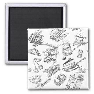 Kitchen Sketch Magnet