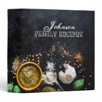 Kitchen Spices Recipe Binder