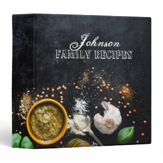 Kitchen Spices Recipe Binder