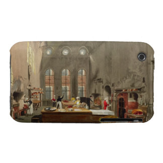 Kitchen, St. James's Palace, engraved by William J Case-Mate iPhone 3 Case