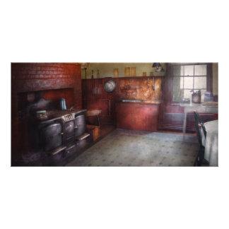 Kitchen - Storybook cottage kitchen Photo Greeting Card