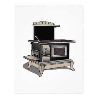 Kitchen Stove Letterhead