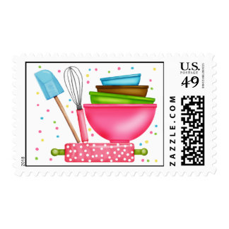 Kitchen Supplies Baking Postage Stamps