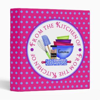 Kitchen Supplies- Bright- Recipe BInder