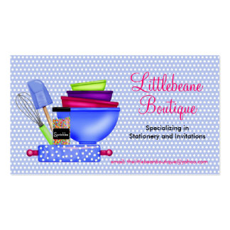 Kitchen Supplies Business Calling Cards Business Card