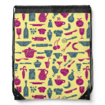 Kitchen supplies drawstring bag