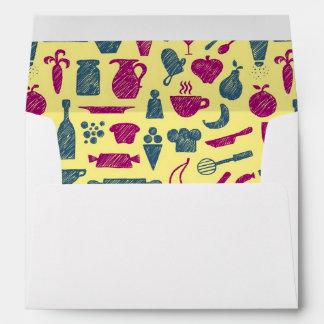 Kitchen supplies envelope