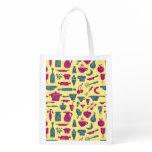 Kitchen supplies reusable grocery bag
