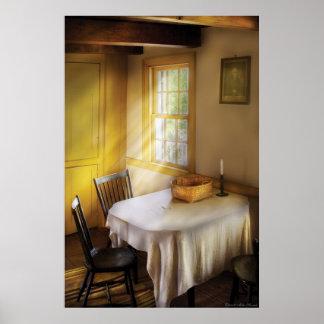 Kitchen - The empty basket Poster