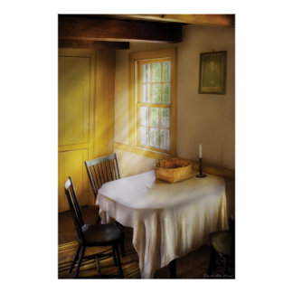 Kitchen - The empty basket Print