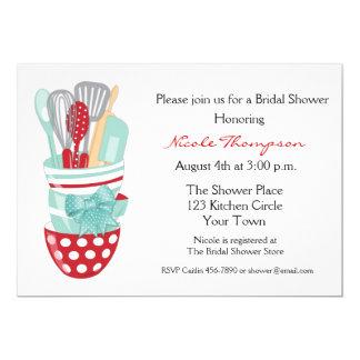 Kitchen Tools Bridal Shower Invitation