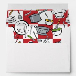 Kitchen Tools Check Envelope